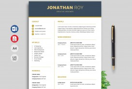 006 Unique Resume Template Download Word Concept  Cv Free 2019 Example File