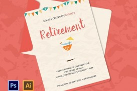 006 Unique Retirement Party Invitation Template Free Word Sample  M