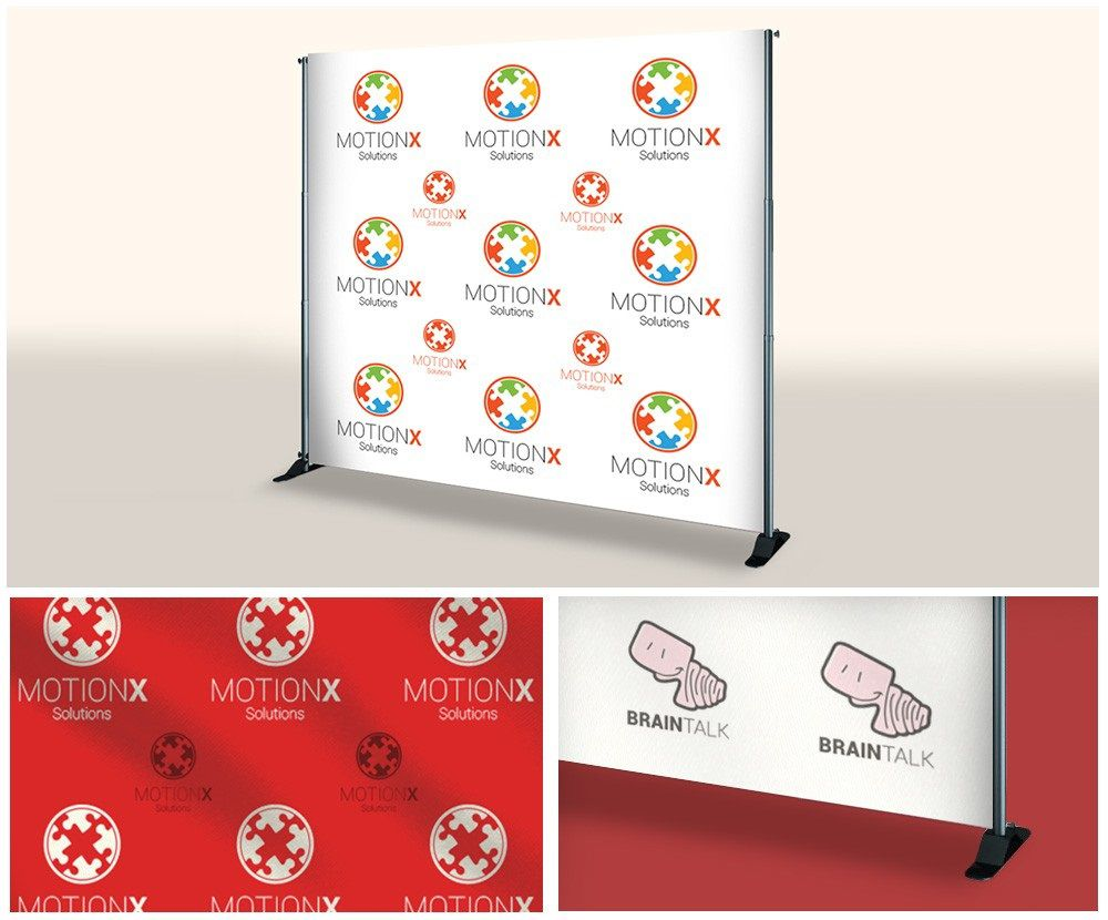 006 Unique Step And Repeat Banner Template High Definition  Psd Photoshop 8x8Full