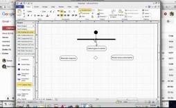 006 Unique Use Case Diagram Microsoft Visio 2010 Example