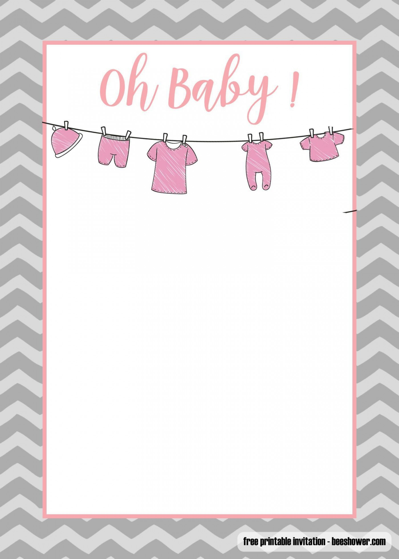 006 Unusual Baby Shower Invitation Template Microsoft Word High Resolution  Free Editable1400