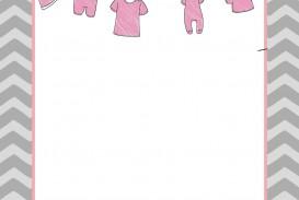 006 Unusual Baby Shower Invitation Template Microsoft Word High Resolution  Free Editable
