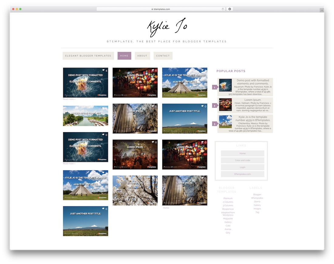 006 Unusual Best Free Blogger Template Highest Quality  Templates Responsive 2019 2020Full