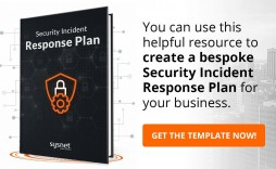 006 Unusual Cyber Incident Response Plan Template Sample  Pdf Security Example