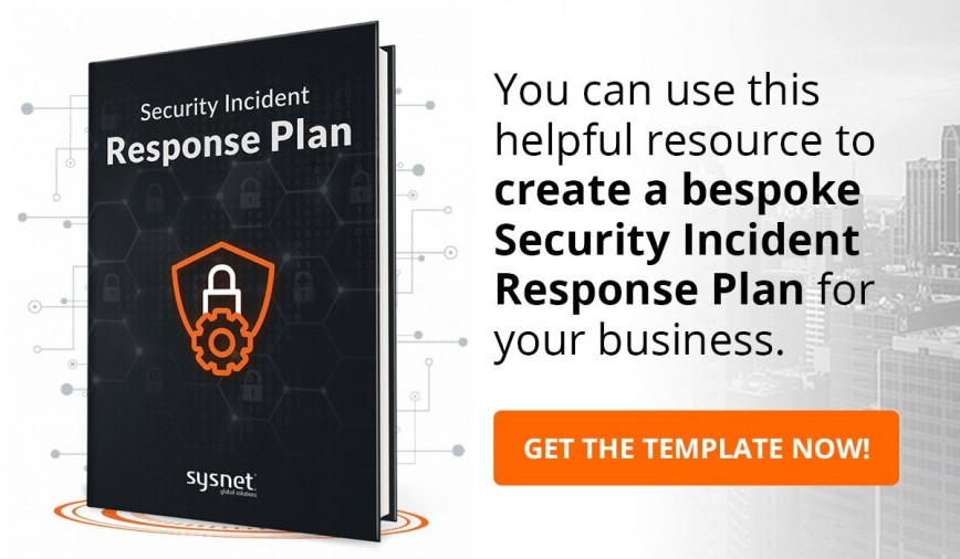 006 Unusual Cyber Incident Response Plan Template Sample  Security Nist Doc