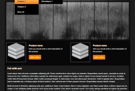 006 Unusual Free Dreamweaver Website Template High Definition  Adobe Cs6 Download Sample