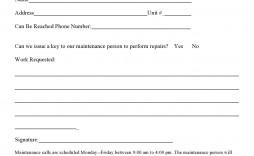 006 Unusual Maintenance Work Order Template Image  Form Free Sample