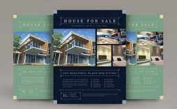 006 Unusual Real Estate Flyer Template Highest Clarity  Publisher Word Free