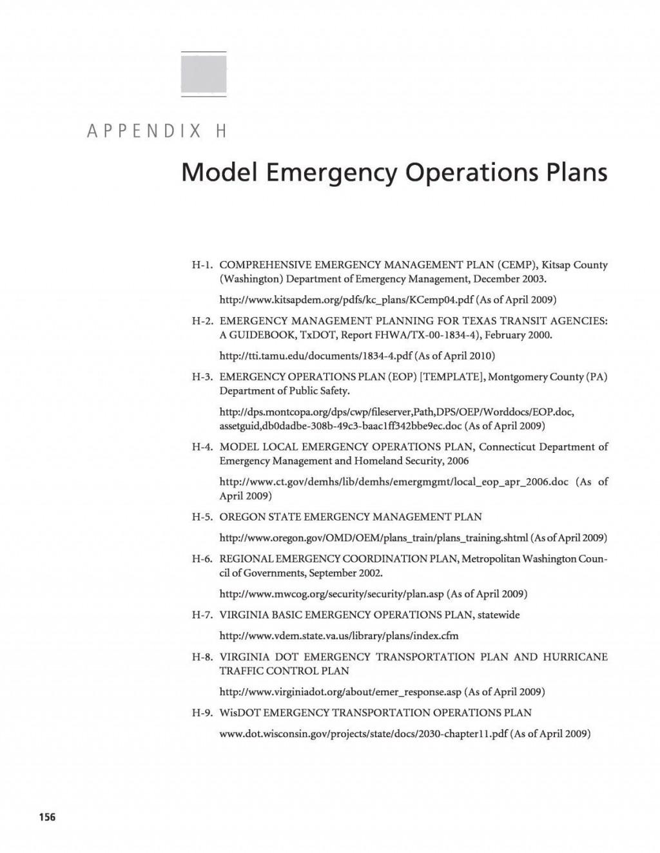 006 Unusual School Emergency Operation Plan Template Michigan Photo Large
