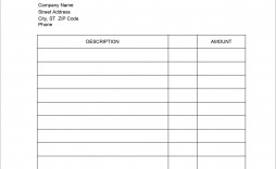 006 Unusual Service Invoice Template Free Highest Quality  Auto Download Excel