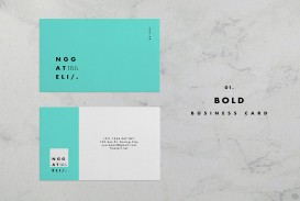 006 Unusual Simple Busines Card Template Psd High Resolution  Design In Photoshop Minimalist Free