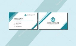 006 Unusual Simple Visiting Card Template Sample  Templates Busines Psd Design File Free Download
