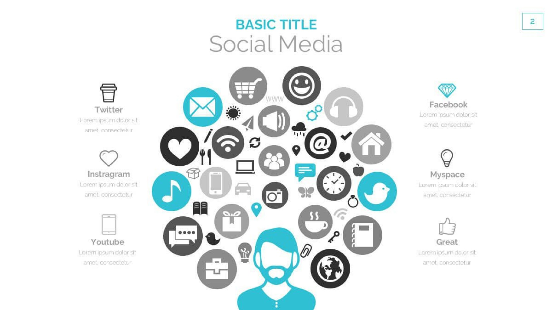 006 Unusual Social Media Powerpoint Template Free High Resolution  Strategy Trend 2017 - Report1920