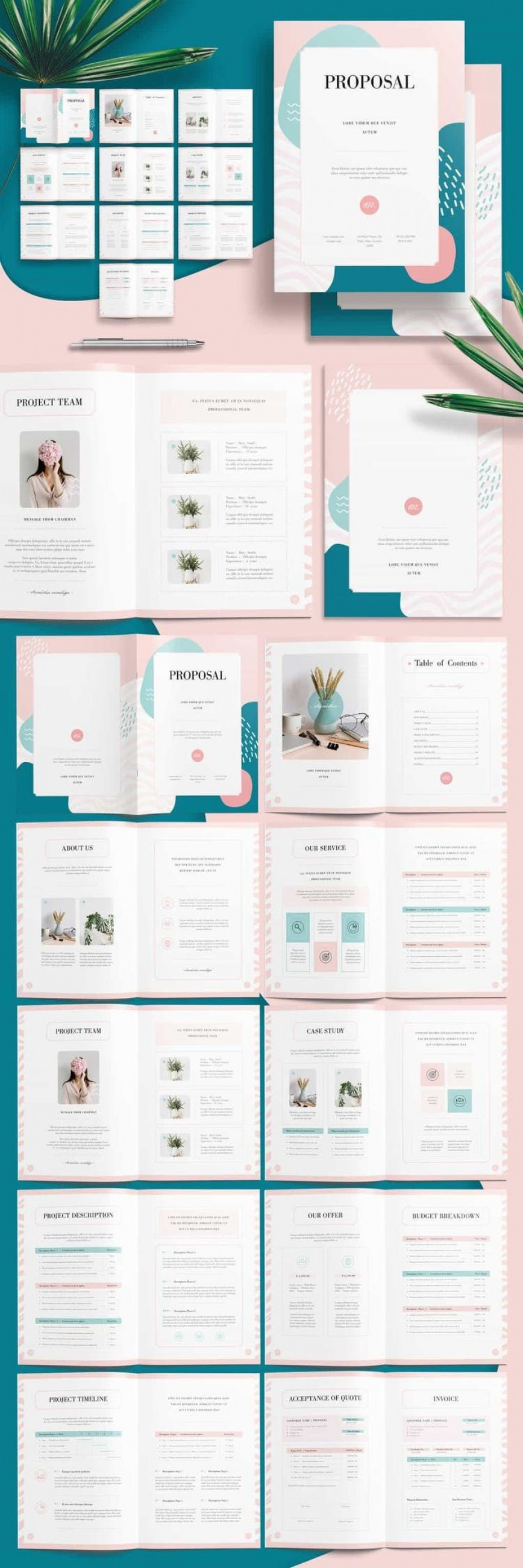 006 Wonderful Annual Report Design Template Example  Templates Free Download Indesign Vector