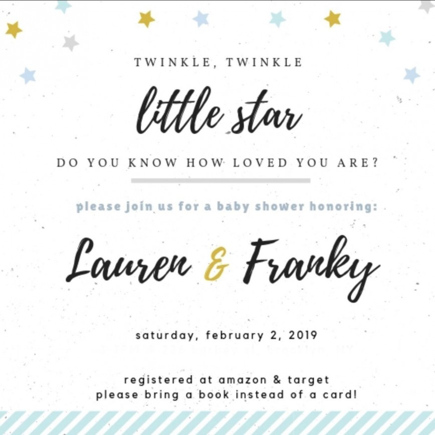 006 Wonderful Baby Shower Invitation Wording Example Highest Clarity  Examples Coed Invite Message