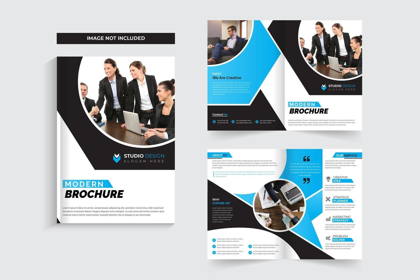 006 Wonderful Brochure Template Free Download Image  Microsoft Publisher Corporate Psd For Adobe IllustratorFull