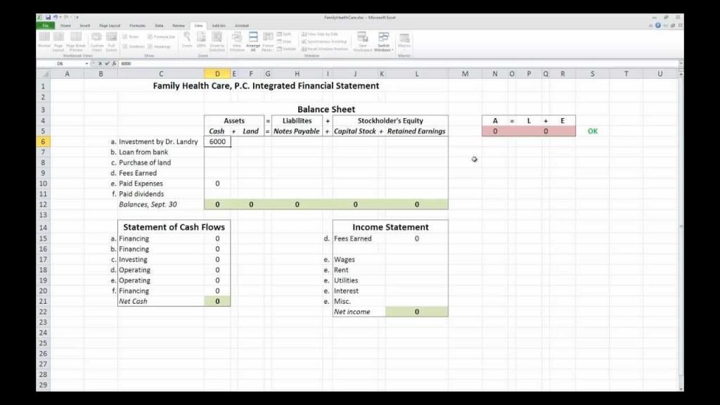 006 Wonderful Financial Statement Template Excel Inspiration  Interim Example Format Free DownloadLarge