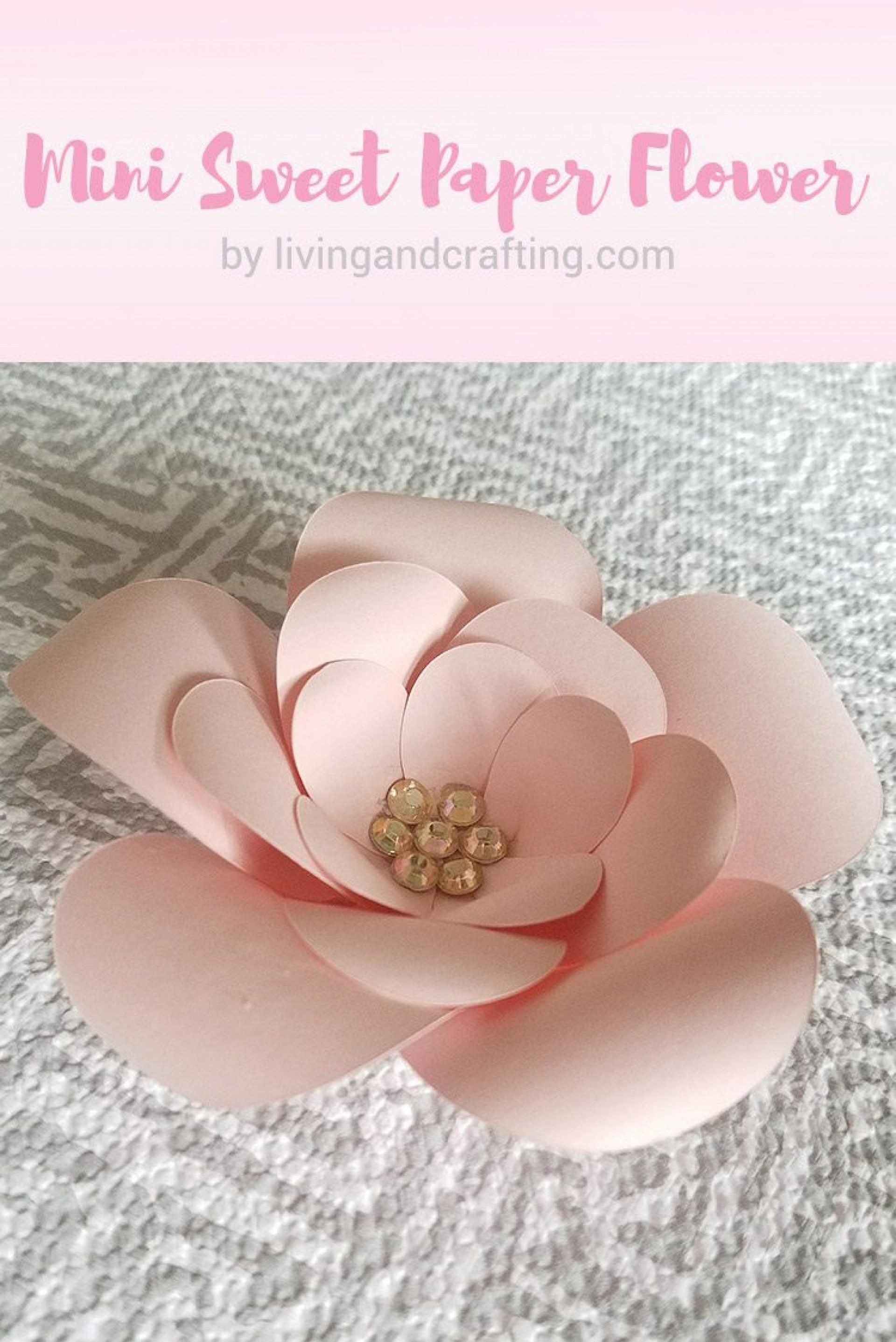 006 Wonderful Free Printable Diy Paper Flower Template Inspiration  Templates1920