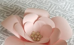 006 Wonderful Free Printable Diy Paper Flower Template Inspiration  Templates