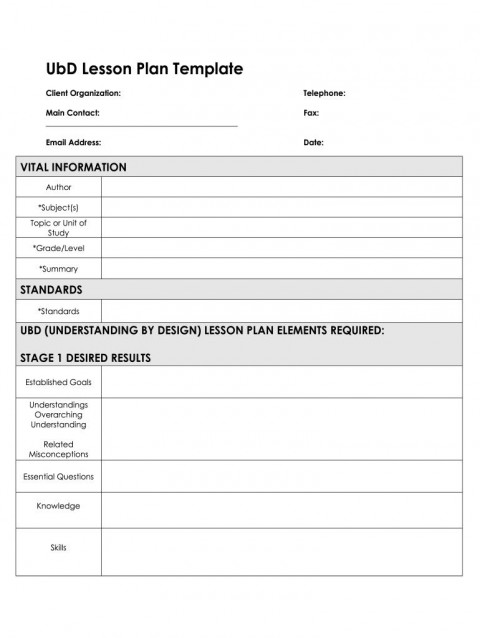 006 Wonderful Lesson Plan Template Pdf Highest Quality  Free Printable Format In English480