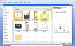 006 Wonderful Microsoft Word Brochure Template High Def  M Free Download Design 2007 A4