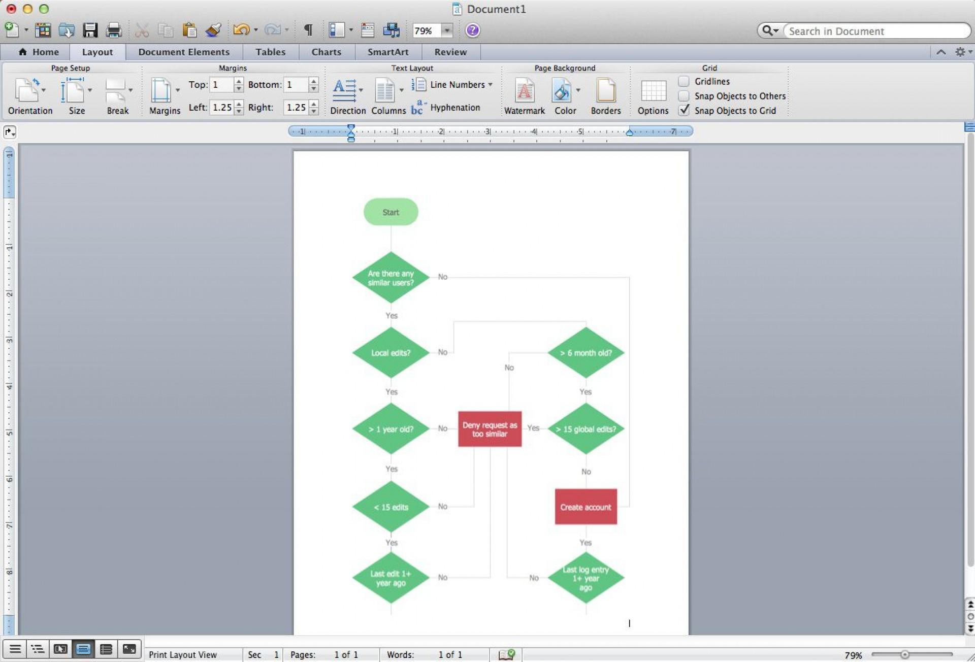 006 Wonderful M Word Flow Chart Template Concept  Microsoft Flowchart Download Free 20101920