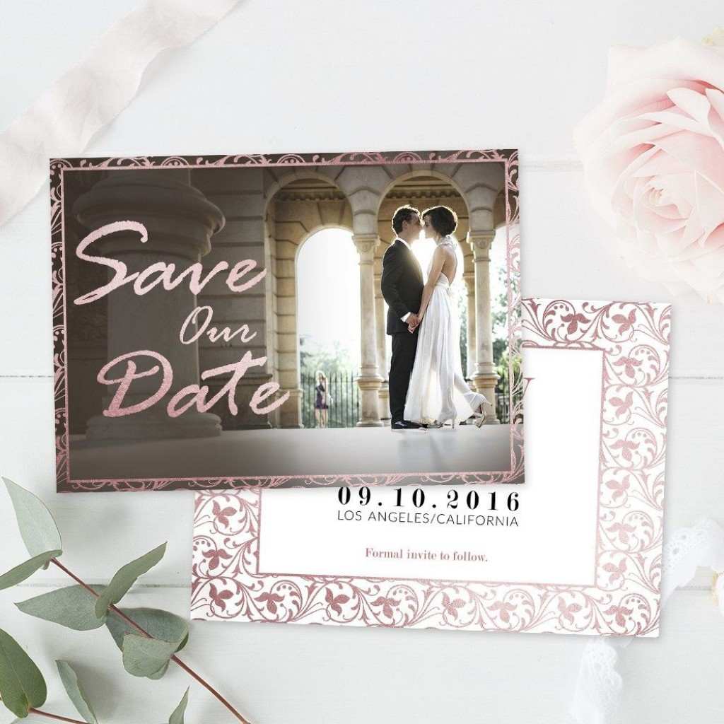 006 Wonderful Save The Date Template Photoshop Highest Clarity  Adobe CardLarge