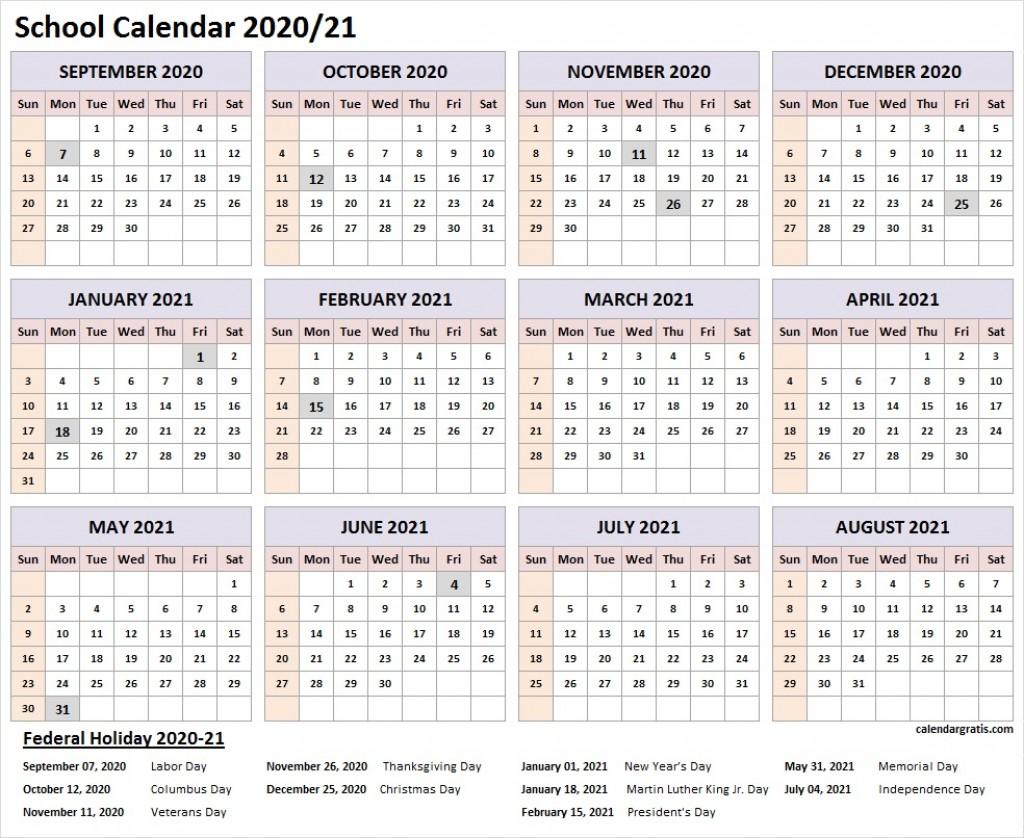 006 Wonderful School Year Calendar Template Highest Clarity  Excel 2019-20 WordLarge