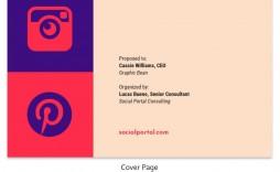006 Wonderful Social Media Proposal Template Idea  Ppt Marketing Word 2019
