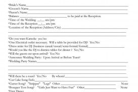 006 Wonderful Wedding Day Itinerary Template Concept  Sample Excel Word