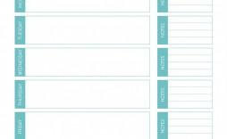 006 Wonderful Weekly Meal Plan Template App Example  Apple Page