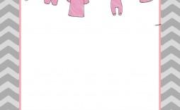 006 Wondrou Baby Shower Invitation Girl Free Printable Design  Twin
