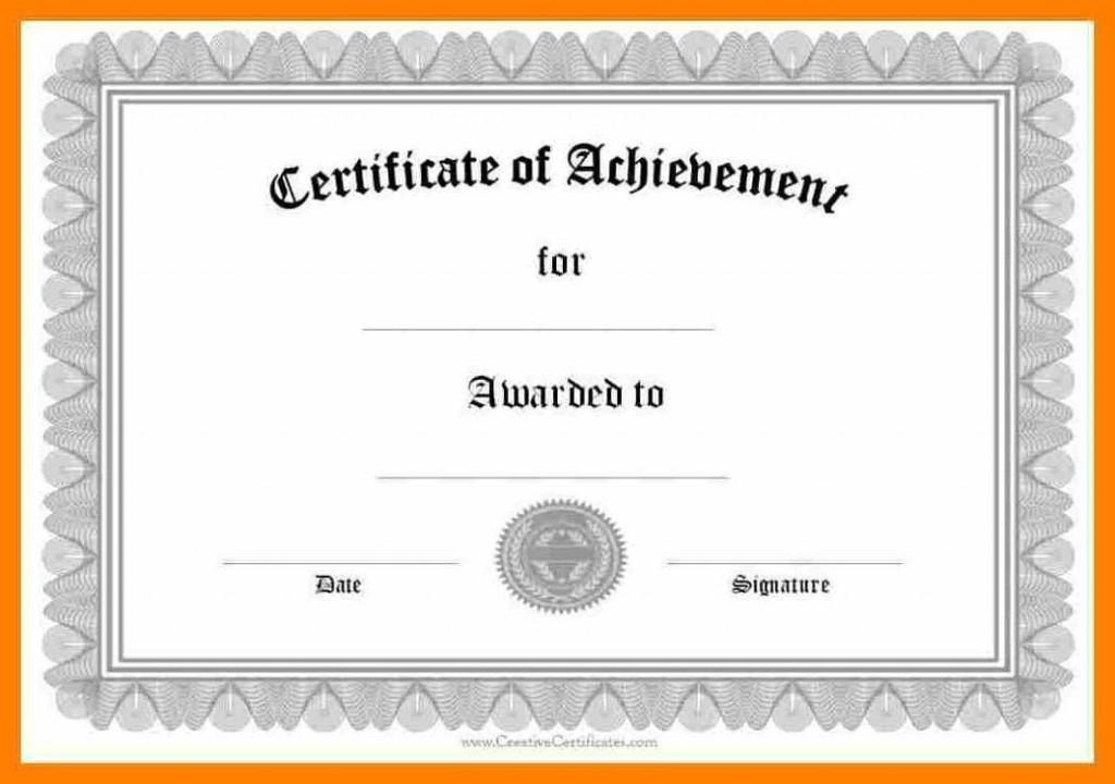 006 Wondrou Certificate Of Award Template Word Free High Def Large