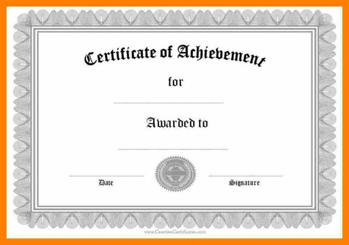 006 Wondrou Certificate Of Award Template Word Free High Def 1400