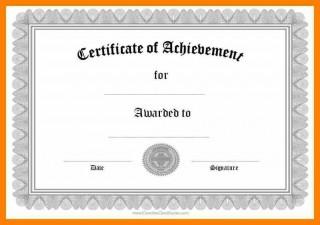 006 Wondrou Certificate Of Award Template Word Free High Def 320