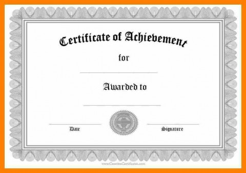 006 Wondrou Certificate Of Award Template Word Free High Def 480