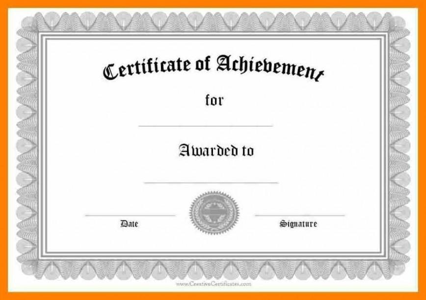 006 Wondrou Certificate Of Award Template Word Free High Def 868