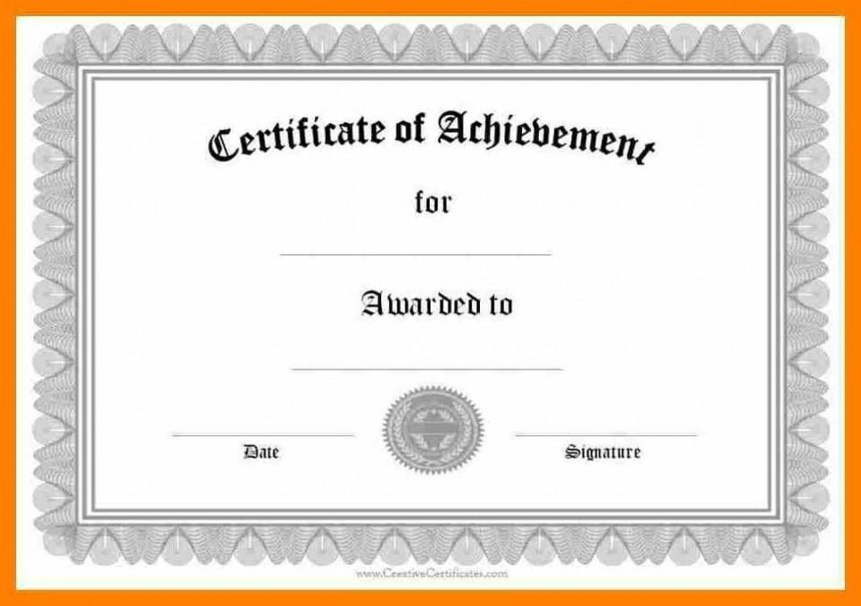 006 Wondrou Certificate Of Award Template Word Free High Def 960
