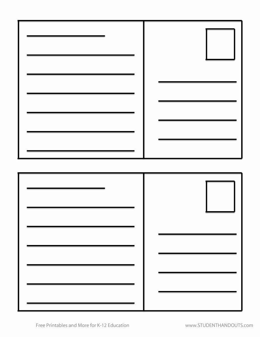 006 Wondrou Free Postcard Template For Word Idea  Printable Christma Place Card 4x6Full