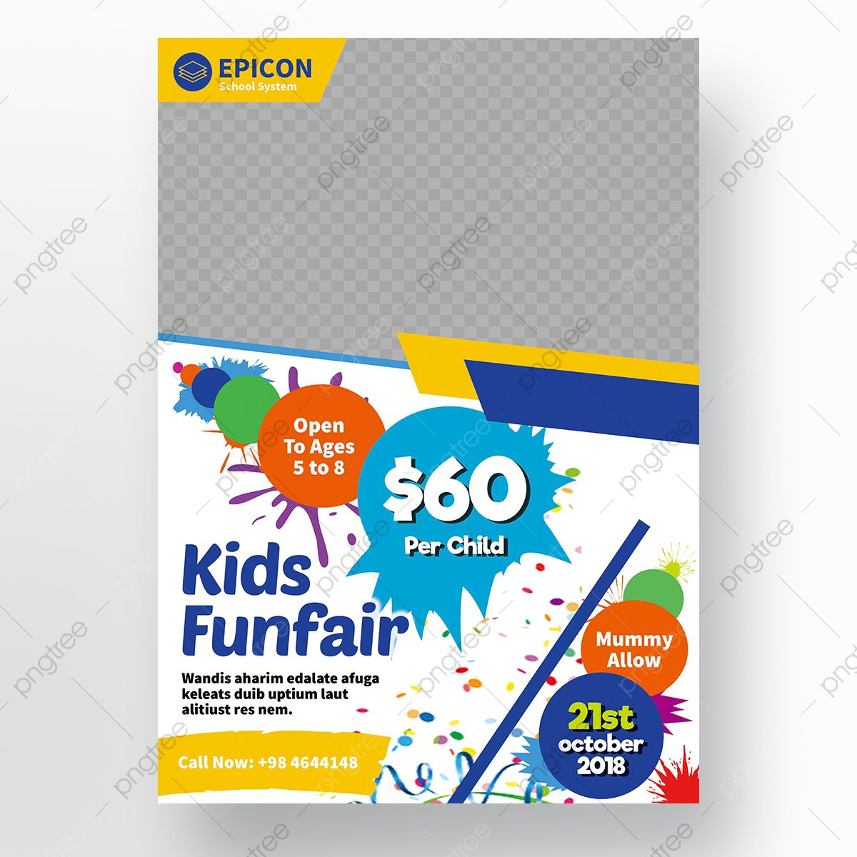 006 Wondrou Free School Flyer Design Template Highest Clarity  Templates Creative Education PosterFull