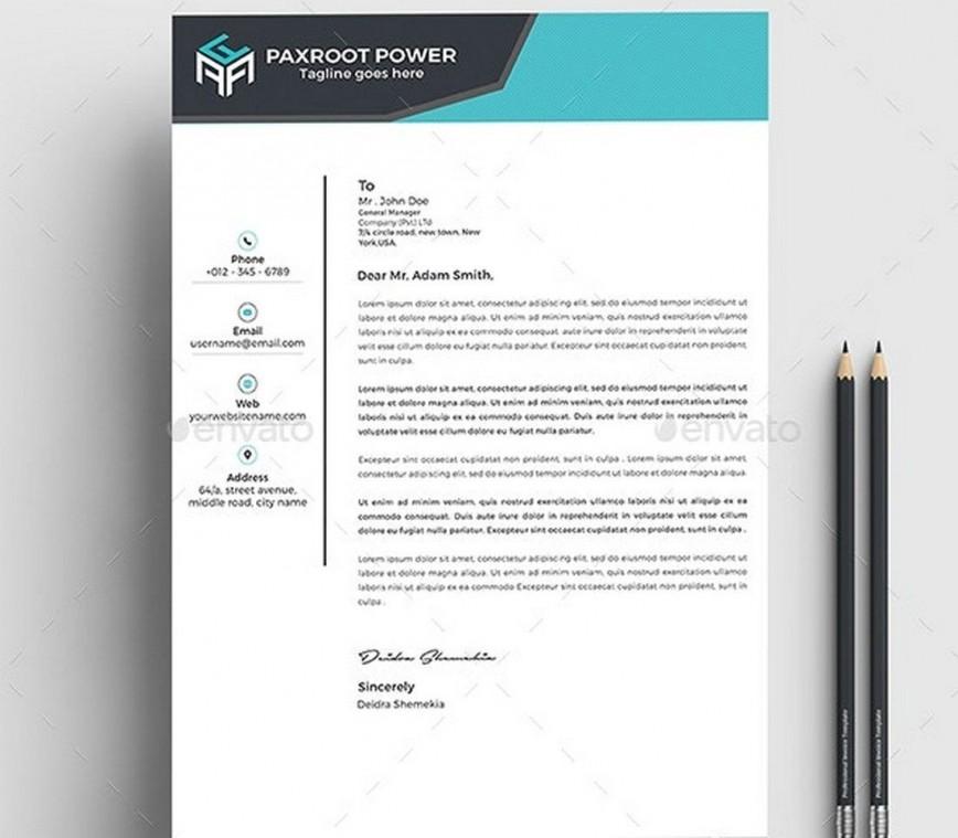 006 Wondrou Letterhead Format In M Word Free Download Idea