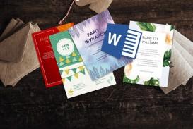 006 Wondrou Microsoft Word Invitation Template 4 Per Page High Resolution