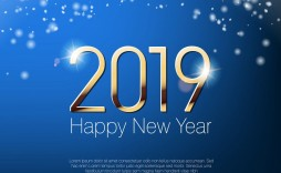 006 Wondrou New Year Card Template Highest Quality  Happy Chinese 2020 Free