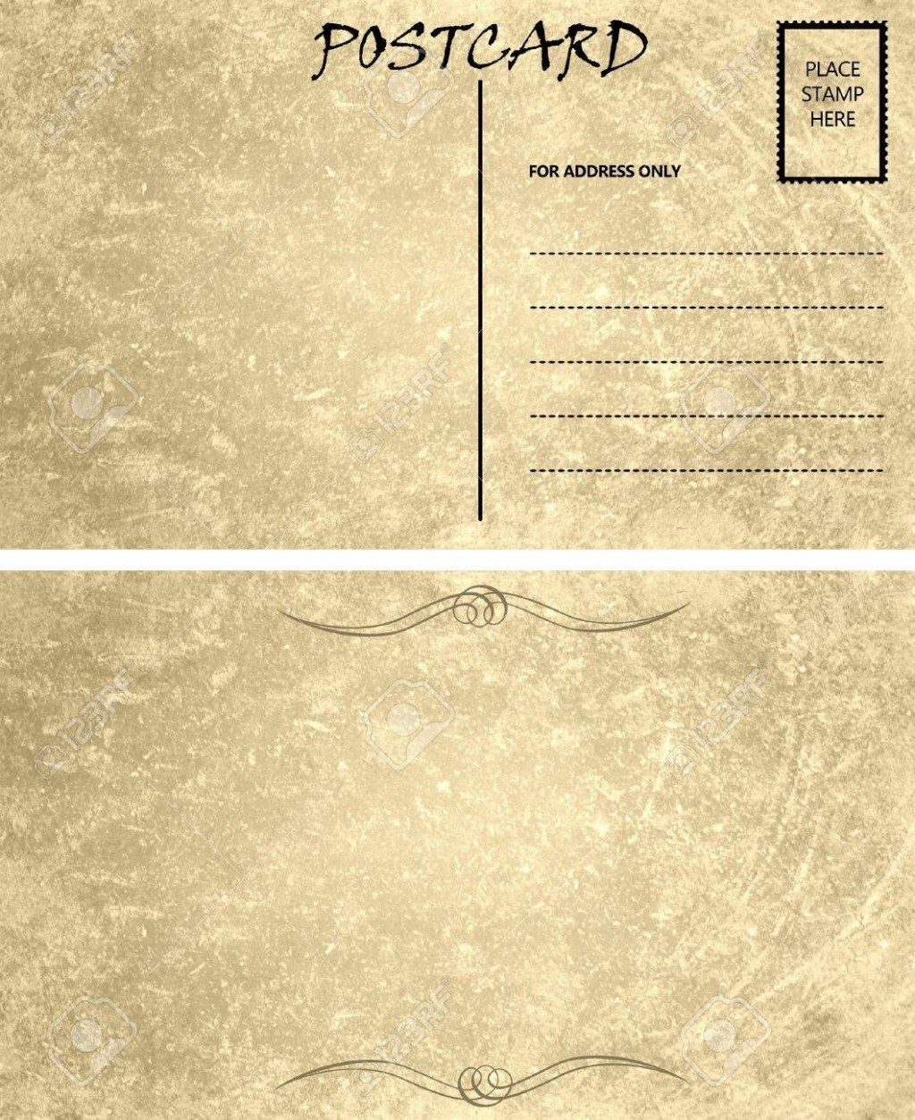 006 Wondrou Postcard Front And Back Template Free Image  To SchoolLarge