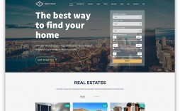 006 Wondrou Real Estate Agent Website Template Highest Clarity  Templates Agency Responsive Free Download Company Web