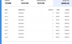 006 Wondrou Self Employed Invoice Template Google Doc Highest Clarity  Docs
