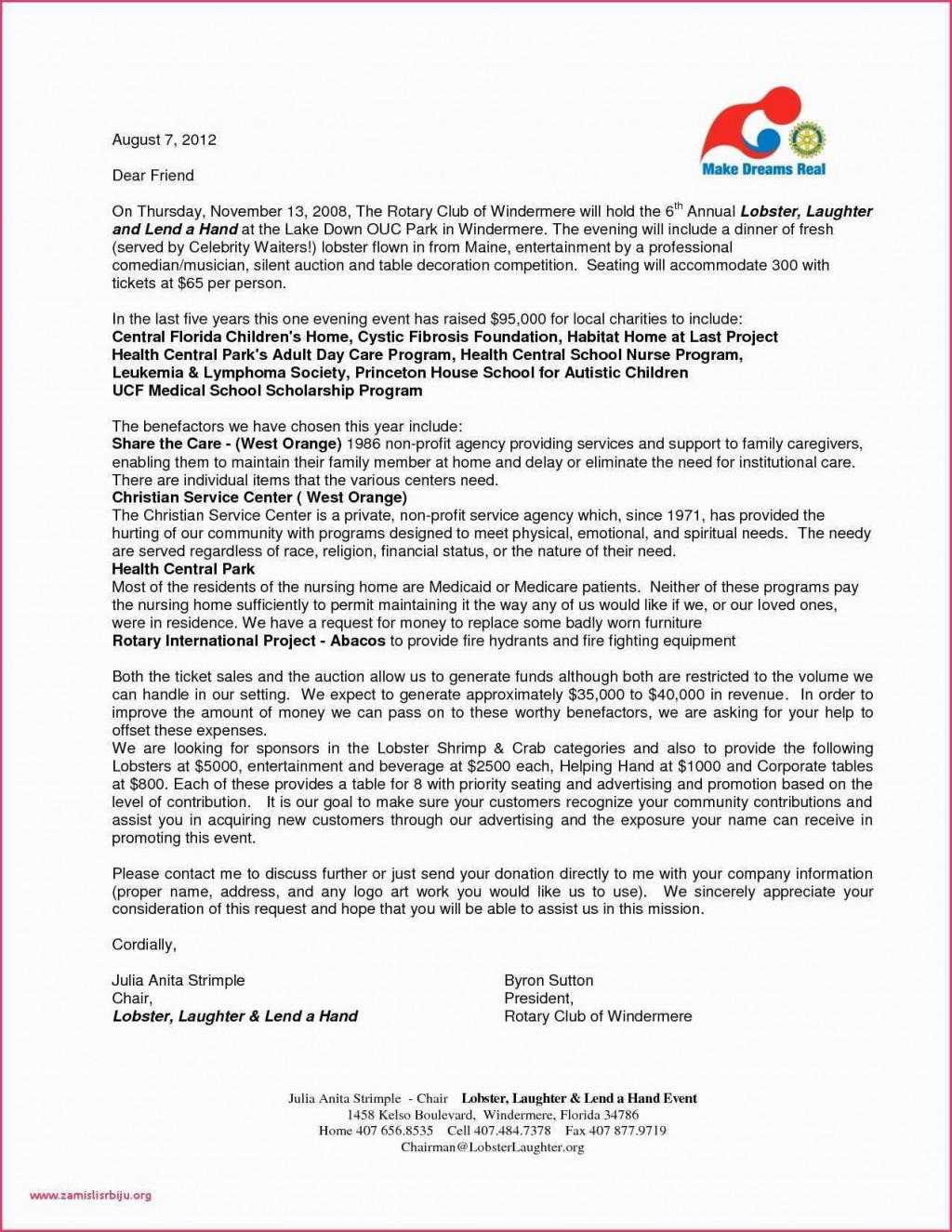 006 Wondrou Silent Auction Donation Certificate Template High Definition Large