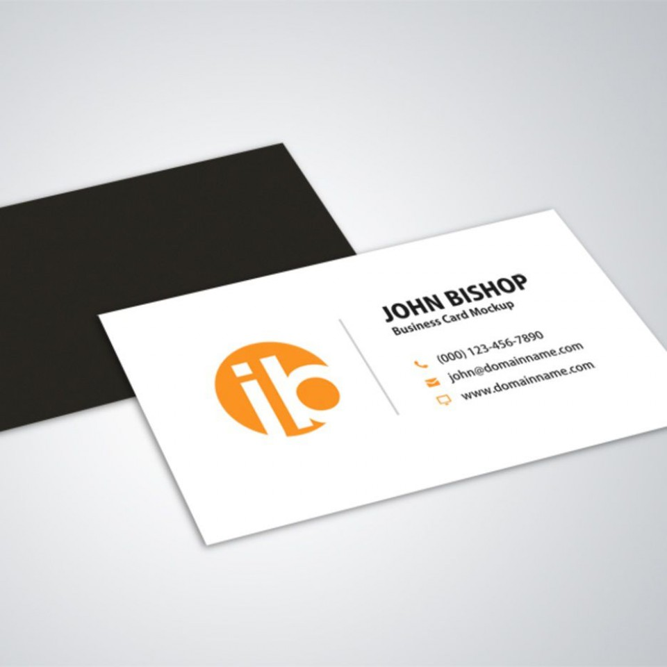 006 Wondrou Simple Visiting Card Design Picture  Calling Busines Template Free In Photoshop960