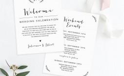 006 Wondrou Wedding Welcome Bag Letter Template Sample  Free