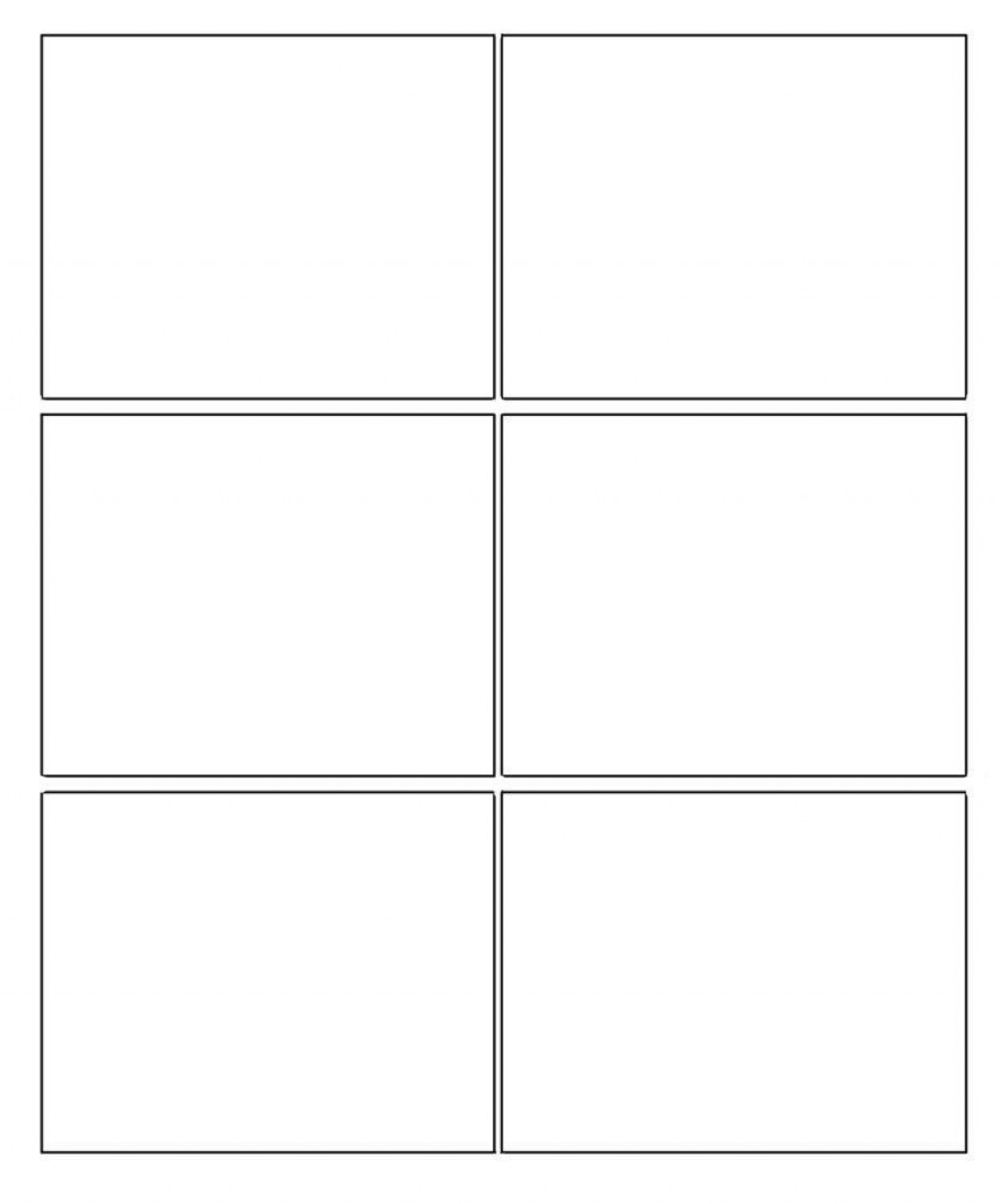 007 Amazing Comic Strip Template Word Doc Image Large